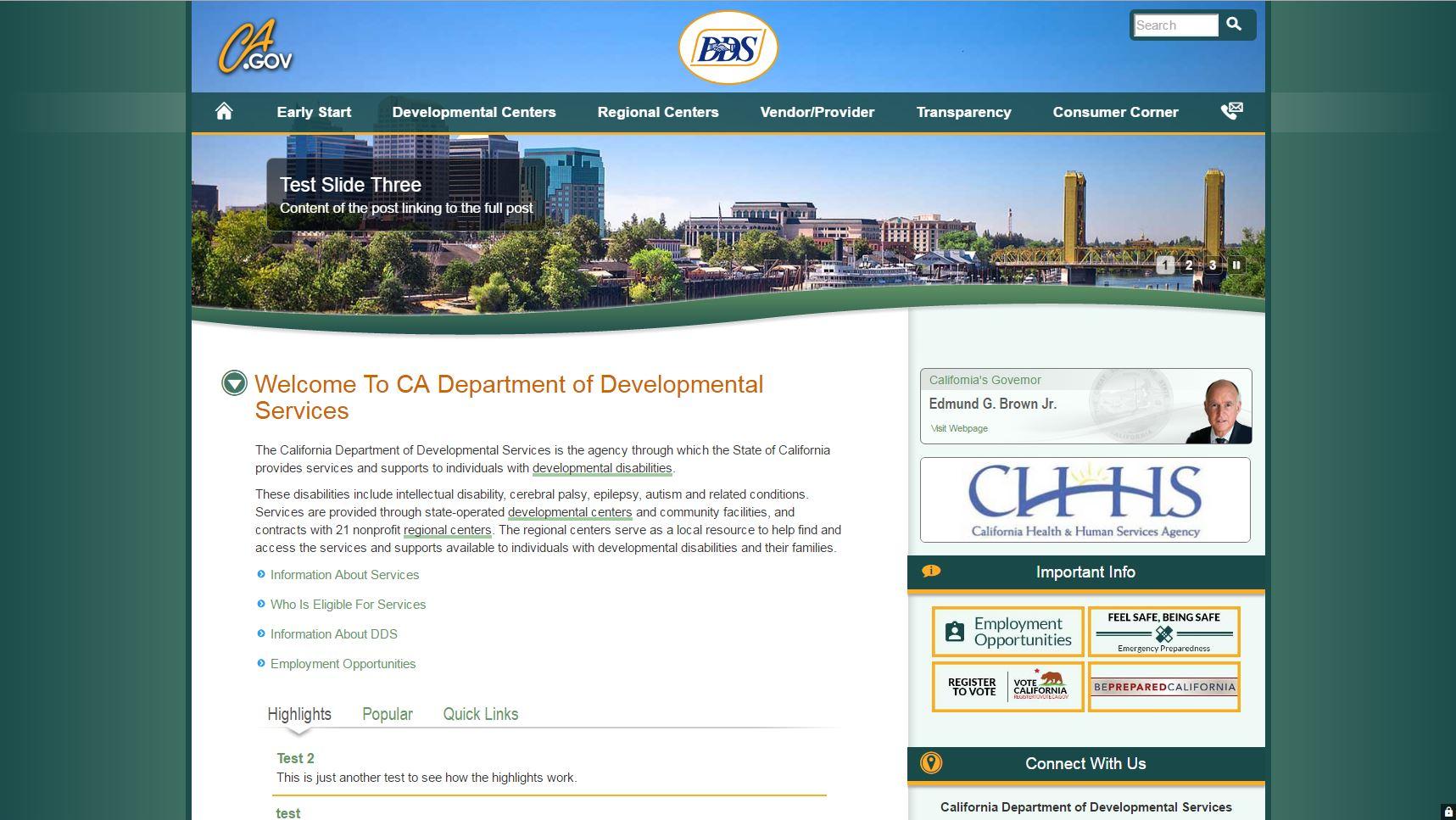 State Template V4 on Wordpress | Webstandards